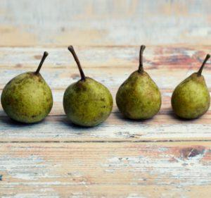 Tabellierung Birnen und Äpfel